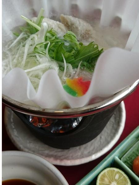 ふぐの一人鍋(イメージです)