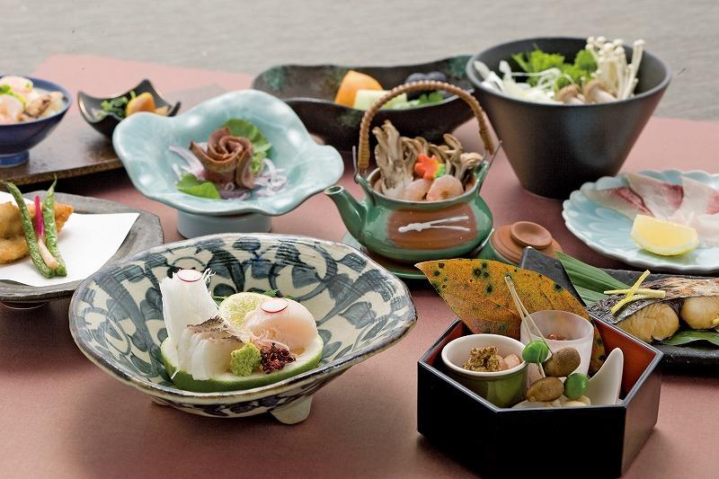 宴会料理(会席料理:一例です)