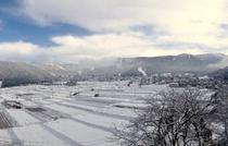 温泉街全景(冬)