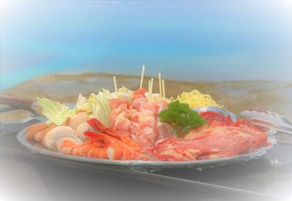 お夕食はオーシャンビューテラスで「BBQ」!ファミリー歓迎【2食付】プラン