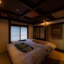 【別邸:隠居の間】和モダン寝室