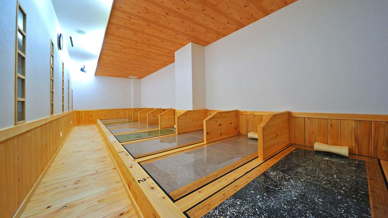 【岩盤浴施設「ターシャナル」】