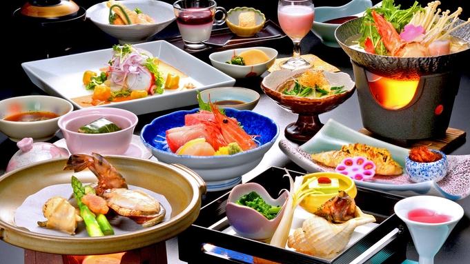 【お料理ランクUP】メイン料理はやっぱ魚介!海鮮陶板焼きでヘルシー和食膳!