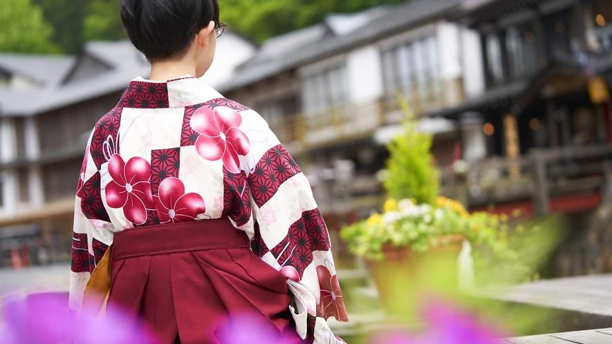 【銀山温泉散策】