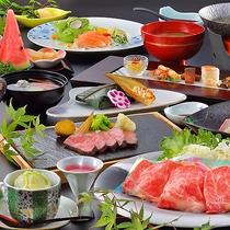 【ご夕食料理「銀山荘特選料理コース」】