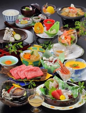 【お部屋の冷蔵庫まるごとパック】【涼風コース】【夏のファミリープラン】海鮮・山菜・八幡屋のお料理満載