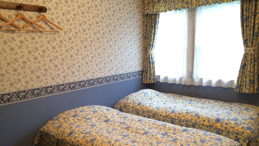 コネクトルームのベッドスペース