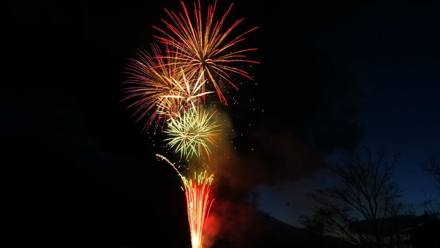 8月1日は花火大会。