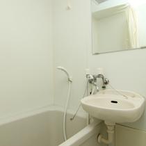シャワー付浴槽バス