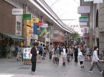 帯屋町商店街(徒歩1分)