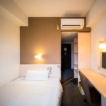シングルルーム 長期滞在者様の人気 棚付き部屋