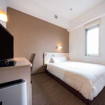 シングルルーム 全室150センチのワイドベット