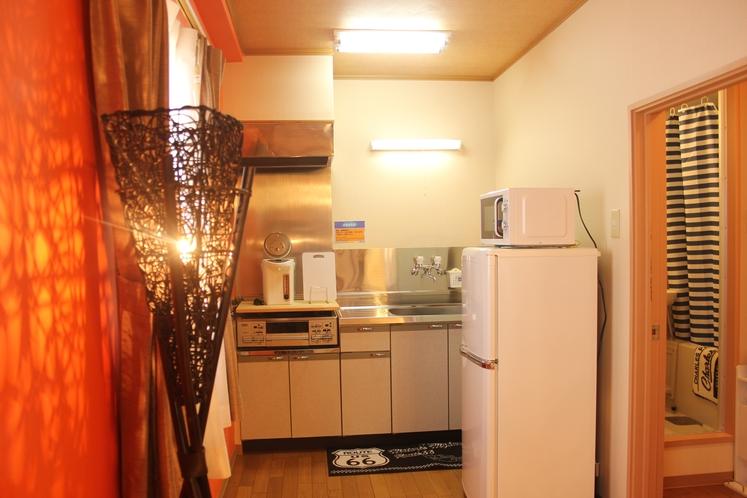 【定員8名部屋(102)】キッチン
