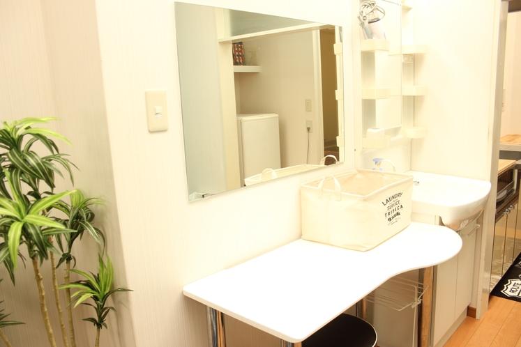 【定員4名部屋(202)】洗面台