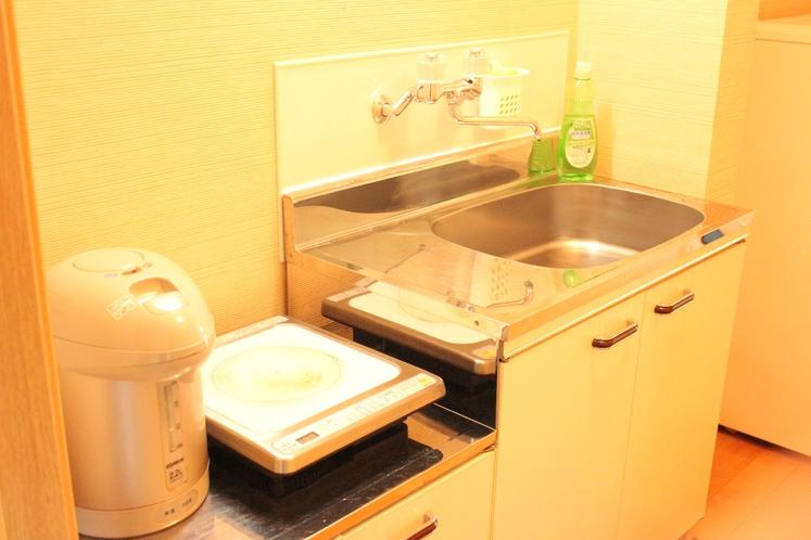 【定員3名部屋(203)】キッチン