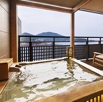 ■ワイドビューツイン客室(露天風呂)■