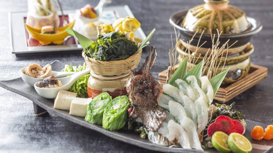 ■premium会席■当館料理長が贈る、至高の美味の競宴がここに。]