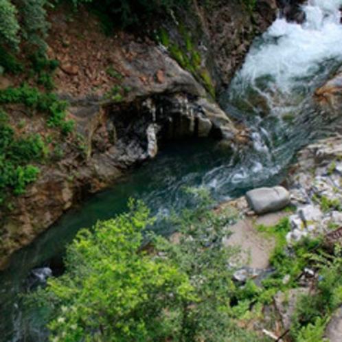 渓谷の景色