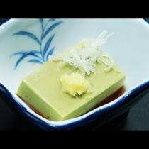 【小鉢】 抹茶豆腐