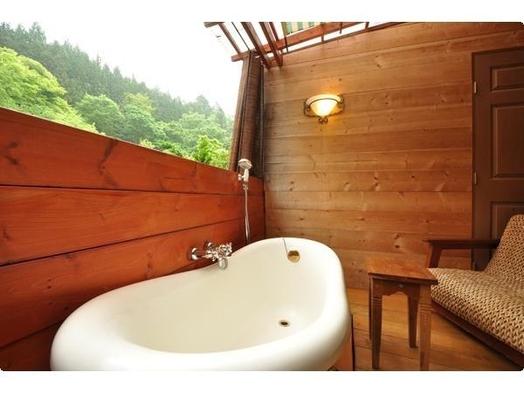客室露天風呂付き【名月に熱燗プラン】お部屋でゆっくり燗酒が、楽しめますよ。。。