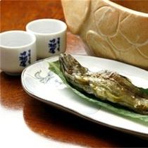 【別注料理】岩魚骨酒