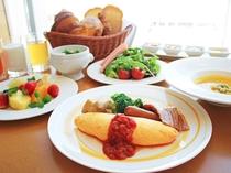 ブッフェレストラン「ブリッジ」朝食