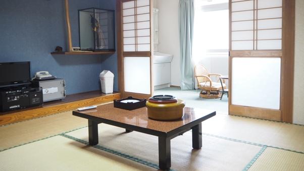 【本館】川側和室8畳(トイレ付)<禁煙>