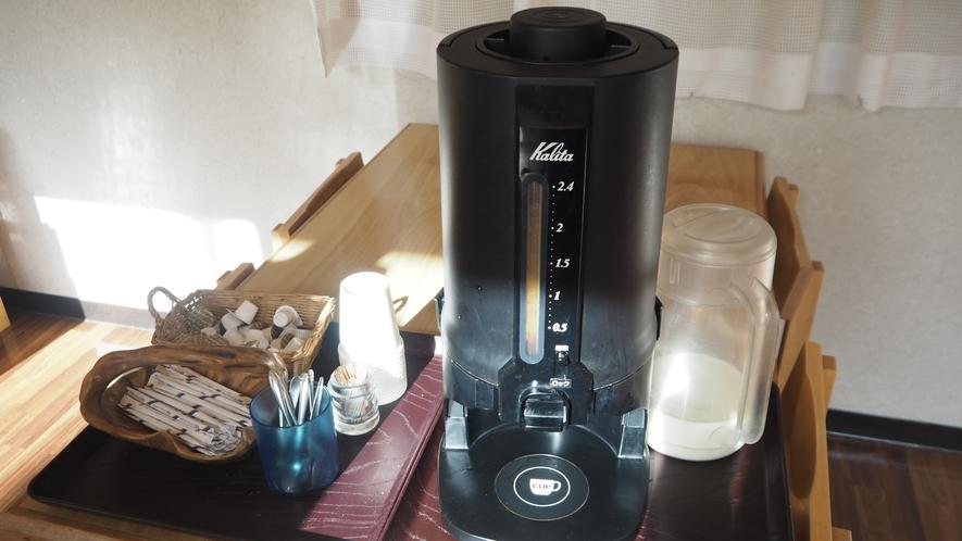 *コーヒーサービス/食後はコーヒーを飲んでゆったりとお過ごしくださいませ