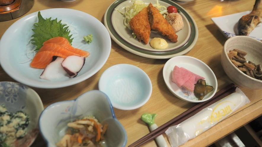*夕食一例/四季折々の食材を使用しております