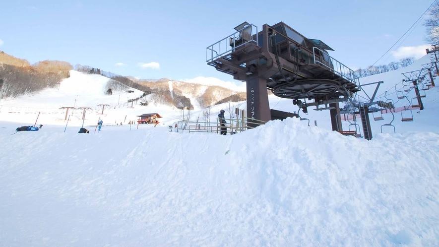 *【スノーパーク尾瀬戸倉】良質な雪で有名な利根にあります