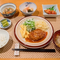 *夕食一例/実家に帰ったかのようなほっとする家庭料理