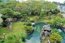 和庭園を眺める空間