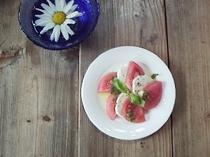 トマトとモッツレラのサラダ