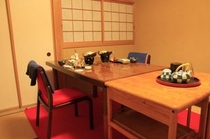 個室お食事処(いす席)