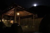 お月見露天