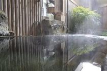 岩風呂付客室