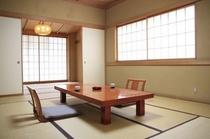 和室:明るく広い角部屋タイプ