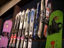 スキー・ボードのレンタル