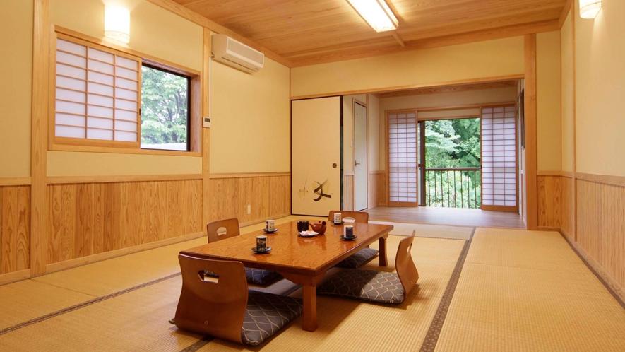 松の間【和室 8~12畳】ウォシュレットトイレ付/エアコン完備