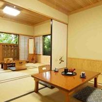 【桐の間 12畳和室】ウォシュレットトイレ付/エアコン完備