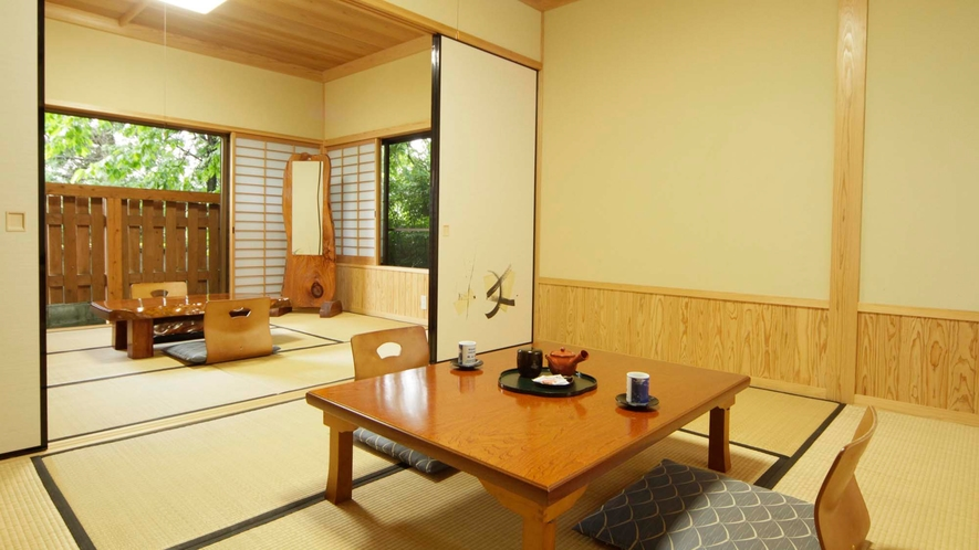 桐の間【12畳和室】ウォシュレットトイレ付/エアコン完備