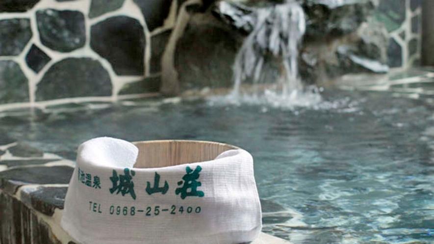 【家族湯】こんこんと湧き出る「美肌の湯」を源泉かけ流しで贅沢に