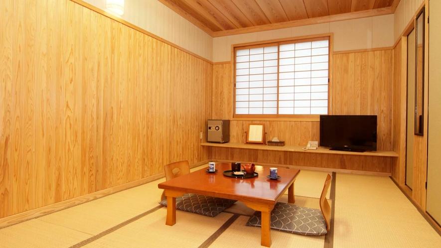 きり島杉の間【和室 8~12畳】ウォシュレットトイレ付/エアコン完備