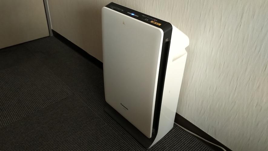 全室空気清浄機を完備しております。
