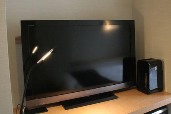 40インチの大画面液晶TV