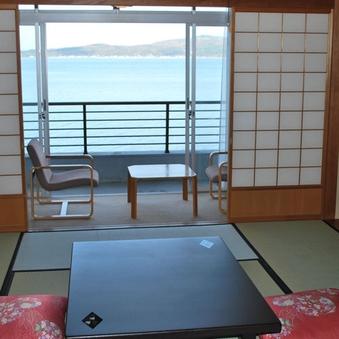 海の見える部屋【海側】 バス・トイレ付