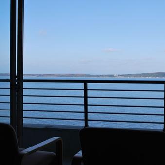 海の見える部屋【海側確約】バス・トイレ付☆早期割限定5室専用