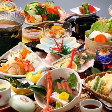 【秋得☆選べる夕食】海側&お抹茶&お菓子付<秋は中庭から手軽に楽しめる♪イイダコ釣りが人気>