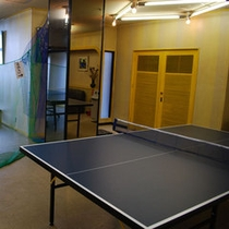 電気を使わずエコな遊び!卓球