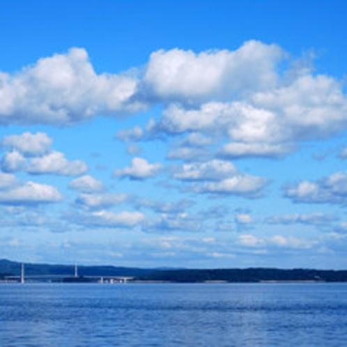 客室からの海の景色一例